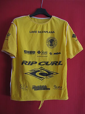 Maillot Surf Engadin wind silvaplana Top thermique windsurf Kite Rip Curl - S