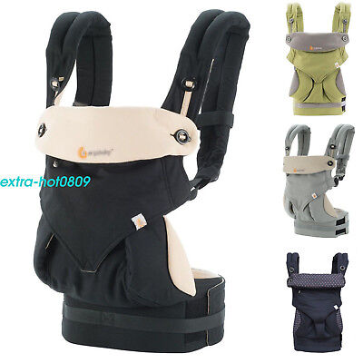 2017 New Baby Carrier Four Position 360 With Box Infant Kids Black Blue Backpack