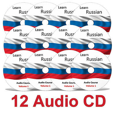 Learn to speak RUSSIAN - Complete Language Training Course on 12 AUDIO CDs