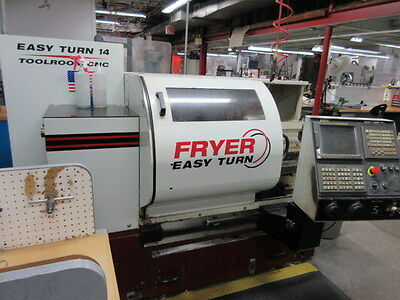 Fryer Easy-Turn 14 CNC Tool Room Lathe with Fanuc 21iT CNC Control