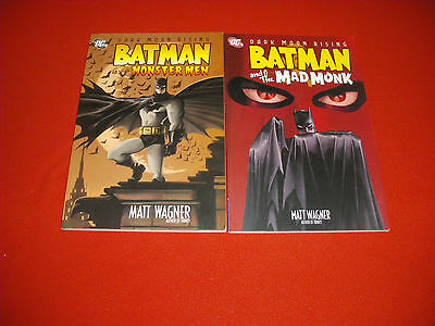 Dark Moon Rising Batman & The Monster Men And The Mad Monk Graphic Novel New/nm