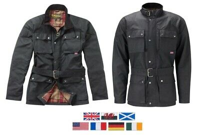 The Gresford Wax Cotton Motorcycle Jacket