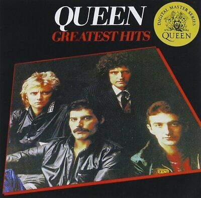 QUEEN GREATEST ULTIMATE HITS SONGS Volume 1 I AUDIO MUSIC CD NEW UK REMASTERED