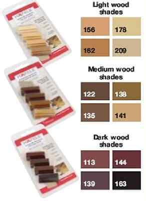 Furniture/ Wooden Floor Repair Soft Wax Sticks - Available in 3 Wood Colours