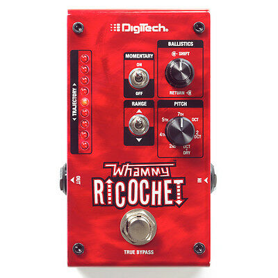 DigiTech Whammy Ricochet Pitch Shifting True Bypass Guitar Effects Shifter Pedal