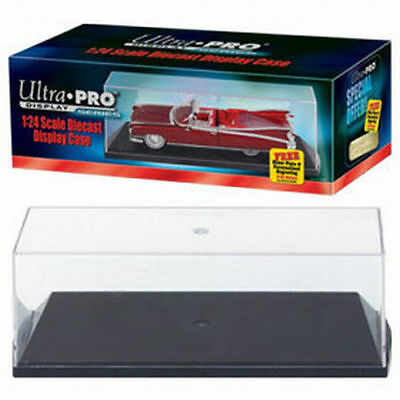 Ultra Pro 1:24 Scale Diecast Car Acrylic Display Case Holder For Model Cars NEW