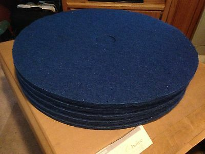 "Choice 27"" Floor Maintenance Pads Scrubber CH27B 400456 New In Box. Lot of 5"