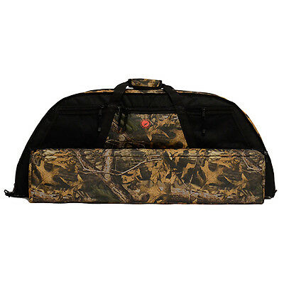 Archery Carry Bag Compund Hunting Bow Arrow Quiver CamoFlauge