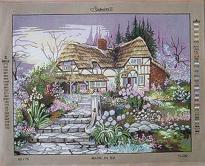 Gobelin Needlepoint canvas-Gorgeous Scenery- Choose from 5 designs 19.75 x 27''