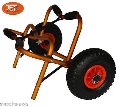 New Collapsible Kayak Cart Trolley Canoe Wheel Cart Boat Carrier -JET02004GLD