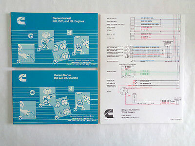 cummins laminated isc and isl cm2150 wiring diagram • cad 27 38 cummins owners manuals isc isce isl and isc isl cm2150 and wiring diagram