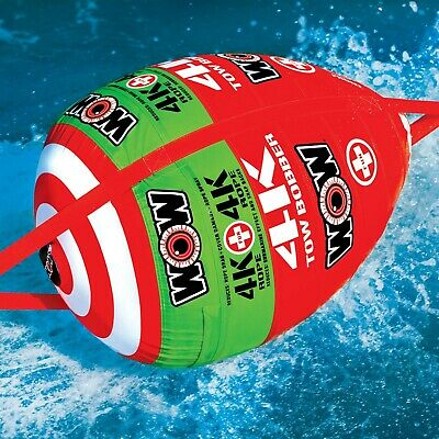 Wow Watersports Tow Bobber Inflatable Towable Ski Tube (15-3000) Boating