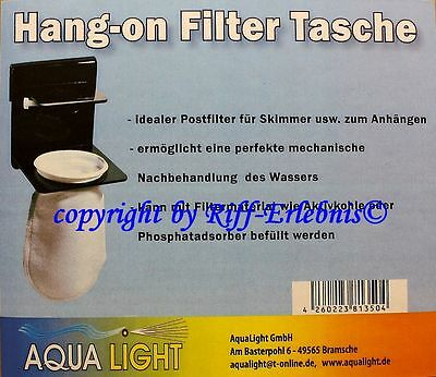 Aqua Light Hang-on Filter Tasche Postfilter für Skimmer oder Filterbecken