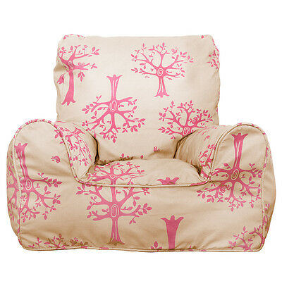 NEW Lelbys Orchard Pink Bean Chair