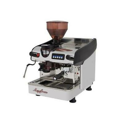 New Expobar Mega Crem Compact w/ Built in Grinder Commercial Coffee Machine
