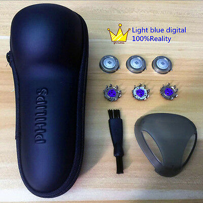 Philips Norelco AT880  PT860  AT940 Series Shaver Travel Case with HQ8 and bush
