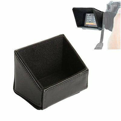 """3"""" LCD Screen Sun Shield Hood Protector for Canon Nikon Sony Cam and Camcorder"""