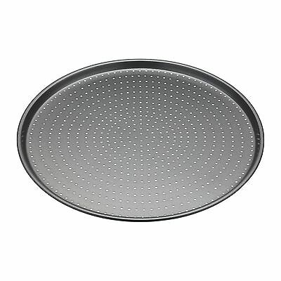 Master Class Crusty Bake Heavy Duty Non Stick Perforated Pizza Tray 33cm