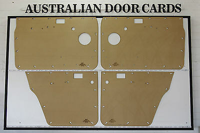 Nissan GQ PATROL Door Cards. Blank Trim Panels. Suit Standard Winder Models