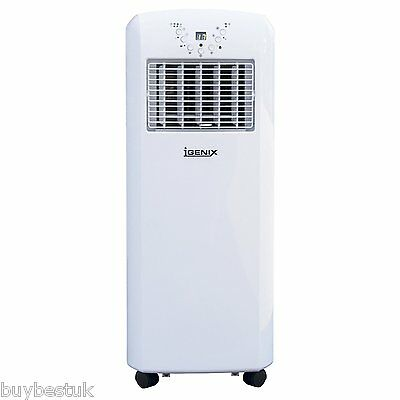 Igenix 9000 BTU 3-in-1 Portable Air Conditioner 1100W - IG9902