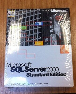 Microsoft SQL Server Software 2000 Standard Edition 228-00690 Ireland Database