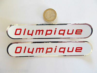 Autocollants CYCLES OLYMPIQUE, ORIGINAL neuf. 1960/70's NOS sticker.