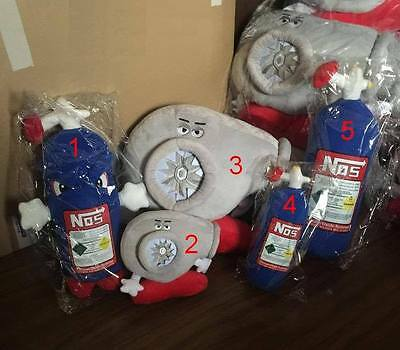 HWY OFFICIAL Mini NOS(4) Nitrous Pillow Plush Toy Stuffed/Filled READY FOR USE!