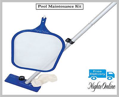 New Pool Maintenance Kit, Swimming Pool Cleaning Set Accessories