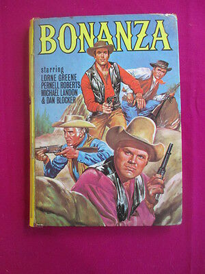 Bonanza (Tv series) 1963 comic Annual
