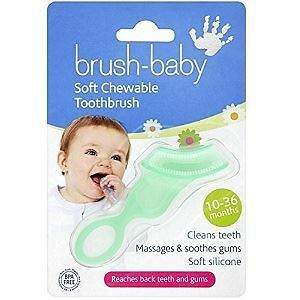 Brush-Baby Chewable Toothbrush 10-36 Months
