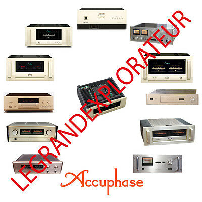 Ultimate Accuphase Owners, Repair & Service schematics manuals  340 manual s DVD