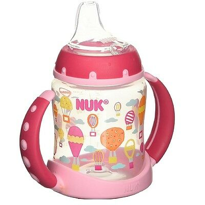 NUK Trendline Cup with Silicone Spout, Babytalk Girl, 5 oz, 6+ Months 1 ea