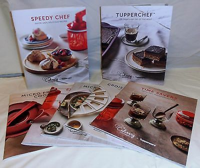 Tupperware COOKBOOKS Speedy Chef, Croissant, Microsteamer, Extra chef, Time Save