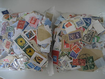 1kg used franked GB Kiloware