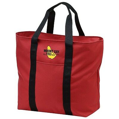 Mount Gay Rum Boat Tote Sailing Bag Zippered