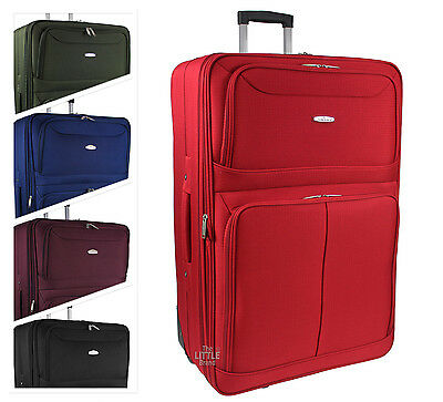"Large/Extra Large Lightweight Luggage Trolley Suitcase Travel Bag-RT42 29"" & 32"""