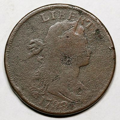 1798 S-148 R-2 Style I Hair, Large 8 Draped Bust Large Cent Coin 1c