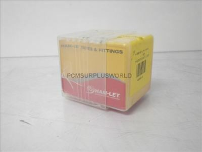 H-300-SS-L-R-1/4-M H300SSLR1/4M HAM-LET Stainless Steel Needle Valve (New In Box