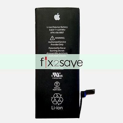 OEM Original Internal Li-ion 1810mAh Battery Replacement For Apple iPhone 6 USA