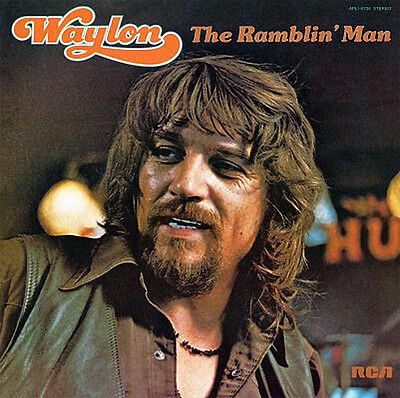 WAYLON JENNINGS Ramblin' Man  180G Vinyl LP - MOVLP1173