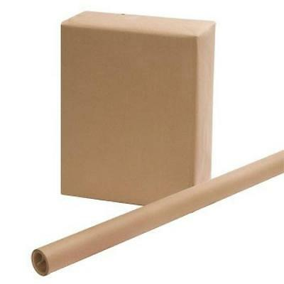 Brown Kraft Wrapping Paper 30 x 15 Feet, New, Free Shipping