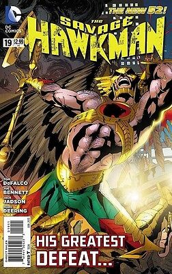 Savage Hawkman (2011) #19 VF - His Greatest Defeat!