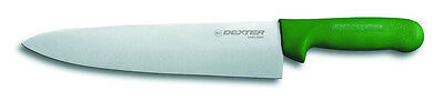 """10"""" chef's knife Green Handle American Made by Dexter # S145-10G FREE 4 DAY SHIP"""
