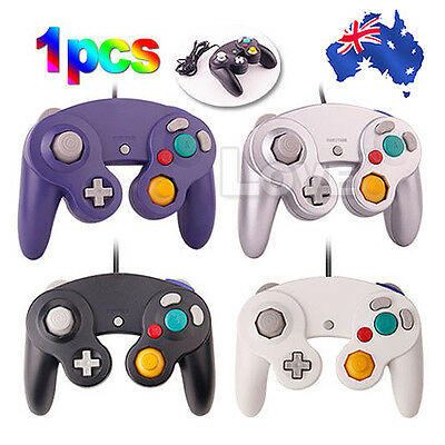 OZ M Gamecube Controller Dual Shock Gamepad Joypad For Nintendo Wii GC NGC