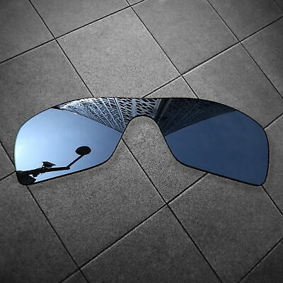 60c0065a0ca2a RAWD Black IR Mirrored Replacement Lenses for-Oakley Batwolf POLARIZED