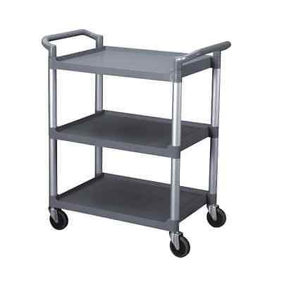 Restaurant Food Service Rolling Utility Bus Cart on Wheels - Free Shipping
