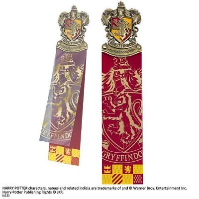 Harry Potter : GRYFFINDOR CREST BOOKMARK from The Noble Collection NOB8715