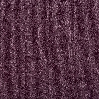 New Paragon Dark Purple Heavy Contract Workspace Loop Carpet Tiles. 5M2 Per Box.