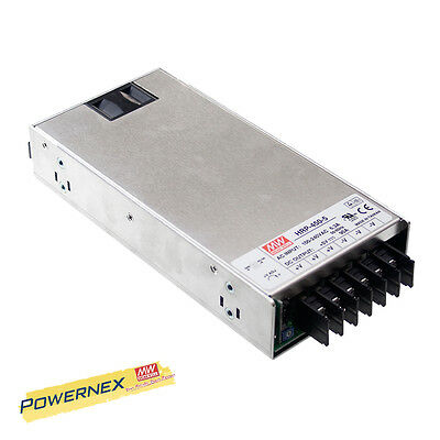 MEAN WELL [PowerNex] NEW HRP-450-48 48V 9.5A 456W Power Supply