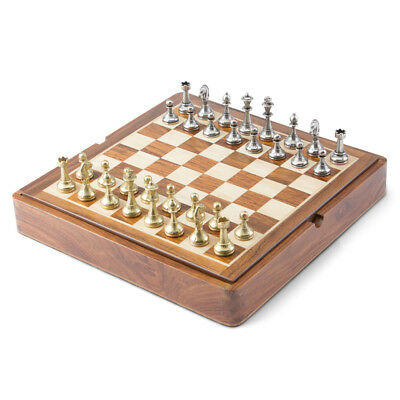 NEW Italfama Golden Rosewood Chess Set